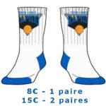Chaussettes - 8€ /1 paire  - 15€ /2 paires